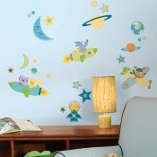 wallstickers rocket dog