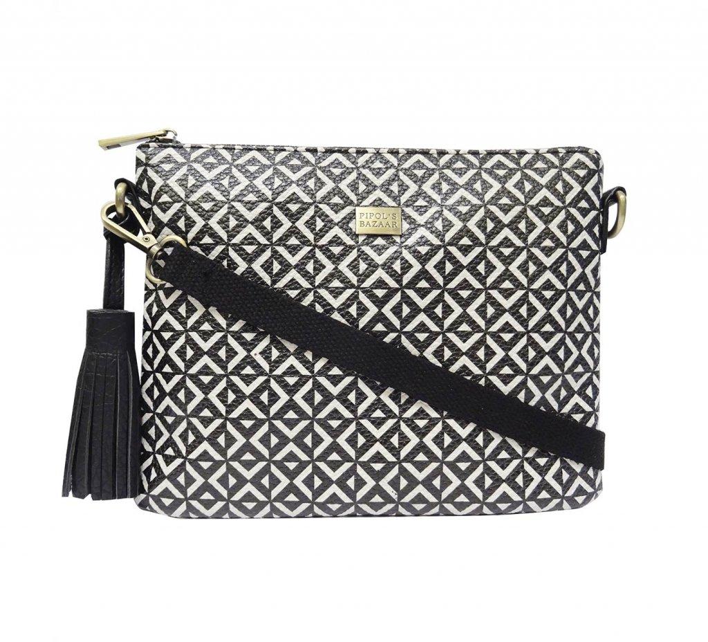 Väska Cross Bag Stile Square B&W